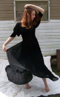 Black Dress Spin Stock 4 by Gracies-Stock