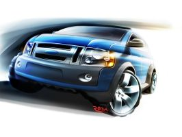 Ford SUV by sergiord