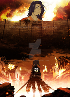 Attack on Avatar by wildjenga