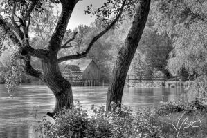 The old watermill by gummaid
