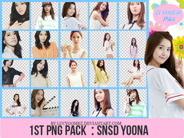 130812 First PNG pack : SNSD YoonA by LucyGomez