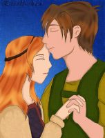 Edolie and Darryn: Disney by Estell-chan
