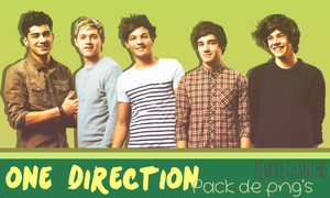 One Direction: Pack de png's by bemorethanthis