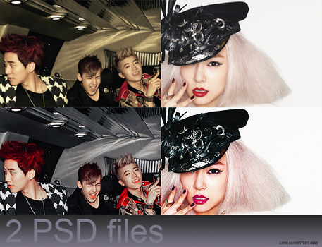 01. 2 PSD Files by Liinh