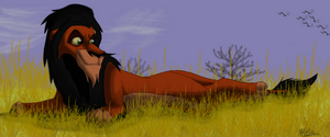 scar lying down by Atarial