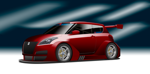 SuperT12 Race Series - Suzuki Swift by StylePixelStudios