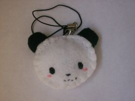cellphone chain panda by Beca1591