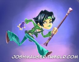 Jade - Rayman Legends by joshmauser