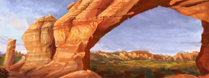 Broken Arch: In Progress by pixelfish