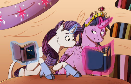 Studying :commission: by Arcticwaters