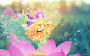 Dancer in the flowers by RiStarr