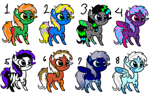 .:CLOSED:. MLP Adopt Batch 2 by xXAddiction-AdoptsXx