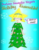 J.E.D.I. - The Duchess's Holiday Outfit by MU-Cheer-Girl
