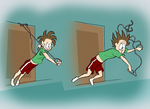 Door Exercise Screwup by WillDrawForFood1
