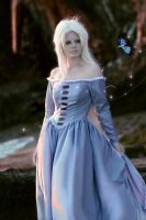 Lady Amalthea Last Unicorn Cosplay by neoqueenhoneybee