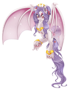 Alba - the bat pony by BlackFreya