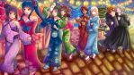 -- Special commission for Valauiel : Festival -- by Kurama-chan