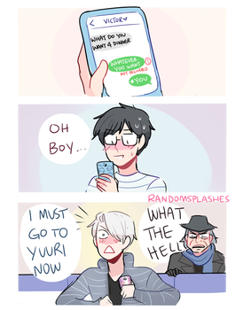 YOI: OH BOY by Randomsplashes
