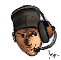 Scout (Fast Sketch) by jorge123esp