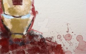 Ironman Watercolour by zosco