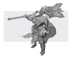Week 6: King Leoric 3/4 by IlyaBond