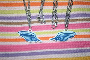 Angelic Wing Necklaces by GrayMegumi