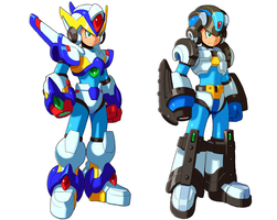 Falcon And Gaea Armor by ultimatemaverickx