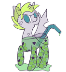 MYO BubbleButt Changeling - Antifreeze by LordoftheFuzzys