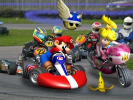 Mario Kart Real by FJOJR