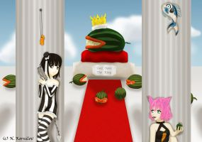 Contest Entery - God Save the King by Lunatta
