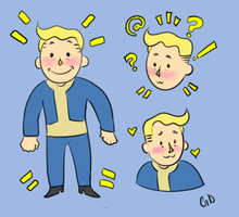 Vault Boy by GHETTO-DOG