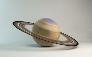 Planet Saturn by microbot23