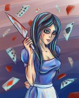 Alice madness by Sensarter