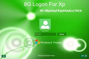 8G Logon for xp by BHASKARSAINIALUDIYA