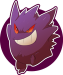 Gengar by Frozenspots