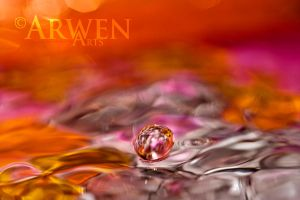 PEARLING DROP by ArwenArts