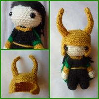 chibi Loki - amigurumi doll (made on order) by Ulvkatt