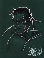 Hulk on green by joebenitez
