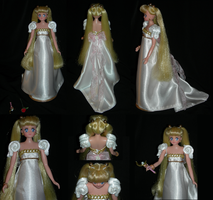 Sailor Moon Custom Princess Serenity Gown by ELynVe