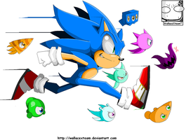 Sonic Colours \O/ by wallacexteam