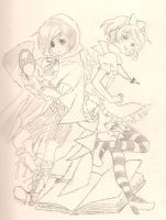 Ciel and Alois in Fantasyland by XxAngel-SChanxX