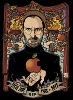 Steve Jobs by Marie-oz