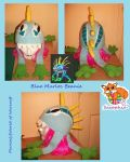 Adult Blue murloc beanie FOR SALE by Sasophie