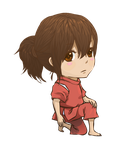 Chihiro Chibi: IT RHYMES by graced-for-art