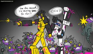 And There Be Sharkticons by b4uGo2h3v34n