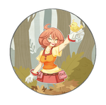 Harvest Moon by GrilledandCheesed