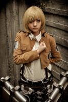 Attack on Titan - Armin Arlert by Ranmaru-Mori