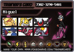Miguel's Trainer Card by Aerostar181