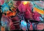 encaustic art living colors 1 by dragonflywatercolors