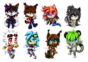Chibi Batch 3 by Shannohn